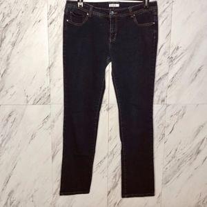 EUC Xhilaration Dark Wash Skinny Jeans SZ 15J/ 16